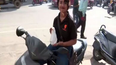 Photo of 'No job is small or big': Hyderabad's food delivery girl