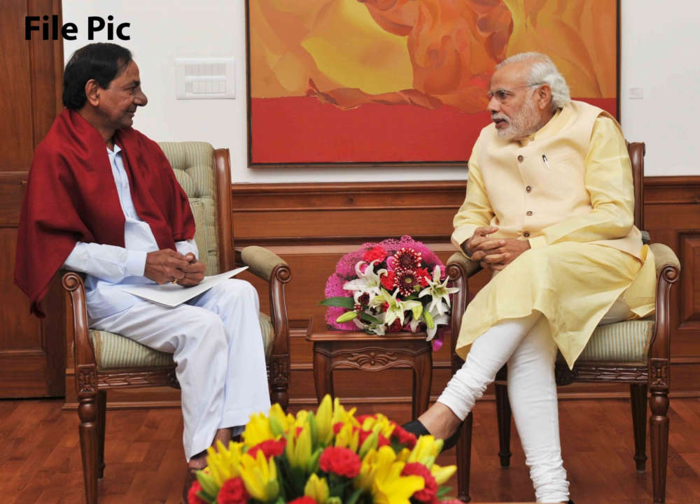 KCR to Modi: Step up, help fix medical infrastructure during pandemic