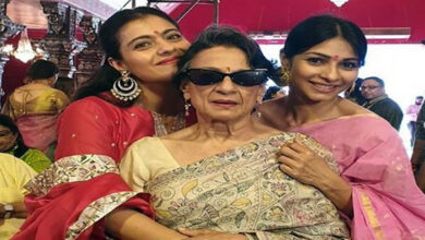 Photo of Kajol kicks off Durga Puja celebrations with mother, sister