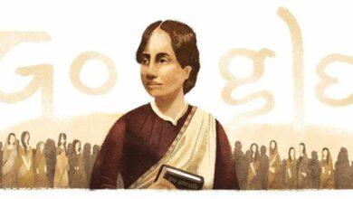 Photo of Google remembers Bengali poet-reformer Kamini Roy