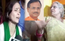 Tiwari case: Wife blamed maulanas, mother accuses BJP leader