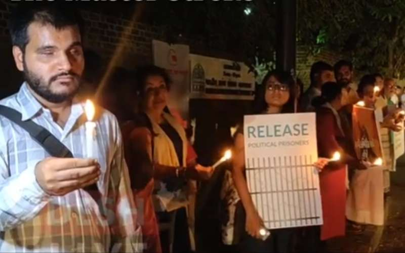 Gujarat: Silent protest held in support of Kashmiris