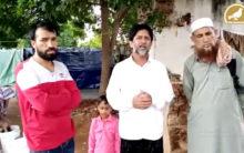 Poor Kashmiri families arrive in Hyderabad, seek help