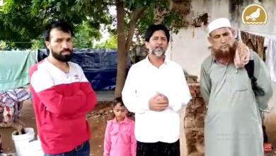 Photo of Poor Kashmiri families arrive in Hyderabad, seek help