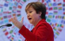 "Global economy slowdown ""more pronounced"" in India: IMF chief"