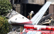 Five people killed in light plane crash in western Mexico