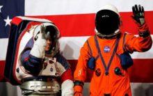 NASA unveils future moon spacesuits