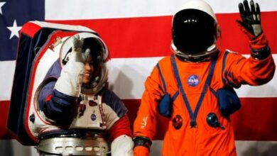Photo of NASA unveils future moon spacesuits