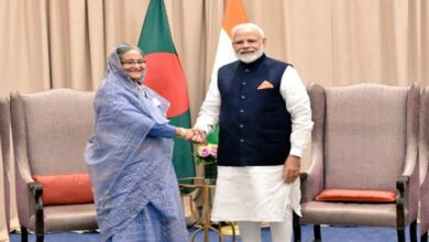 Photo of Sheikh Hasina to hold bilateral discussions with PM Modi today