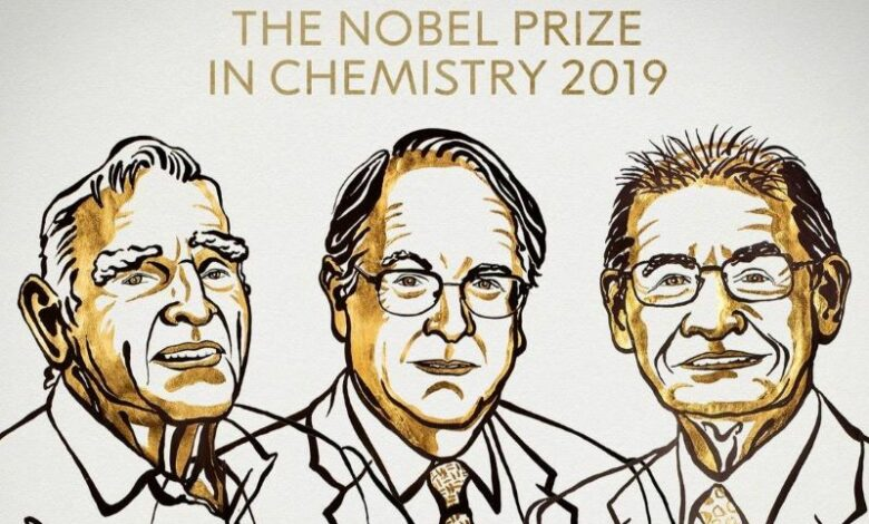 Pioneers of lithium-ion battery win Nobel Chemistry Prize