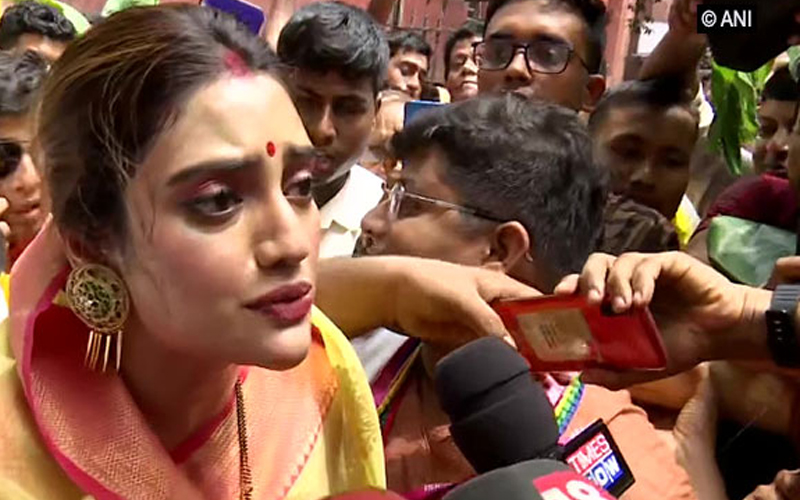 Nusrat Jahan responds to cleric's calling