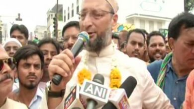 Photo of Owaisi rubbishes viral dance video with miyan bhai song