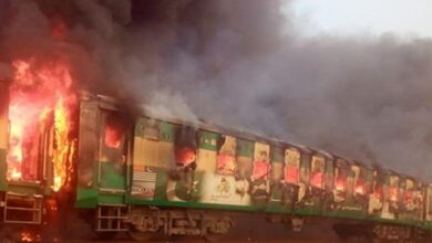 Pakistan train fire: Death toll reaches 65