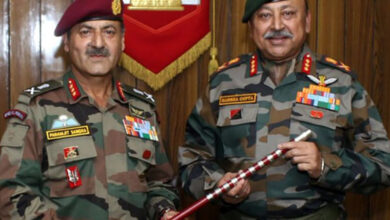 Photo of Lt Gen Harsha assumes charge as GOC of elite 'White Knight Corps