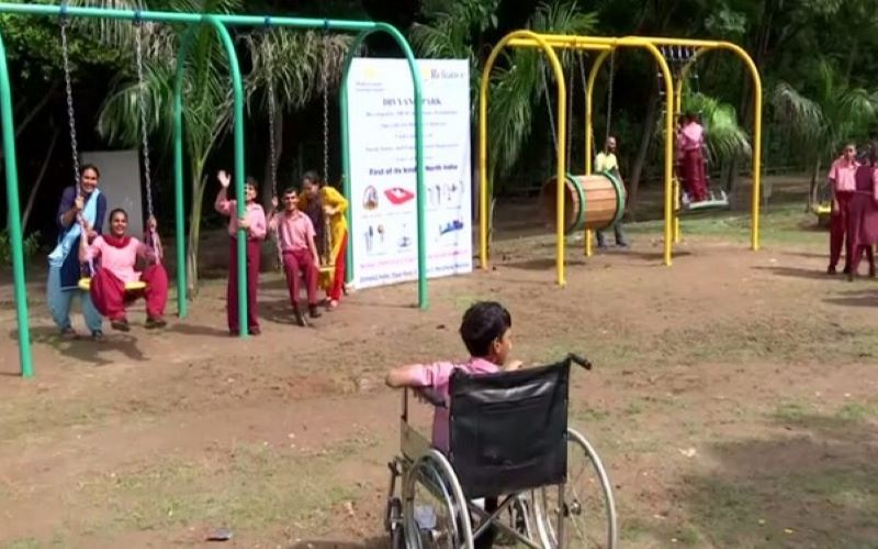Park designed for differently-abled children opens in Panchkula