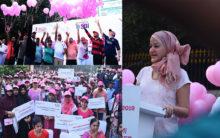 Hyderabad: Pink Ribbon walk held for awareness on breast cancer