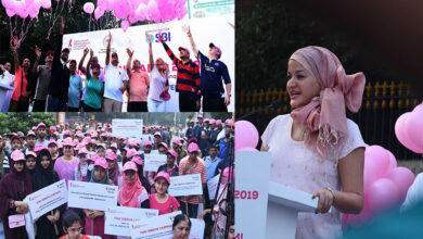 Photo of Hyderabad: Pink Ribbon walk held for awareness on breast cancer