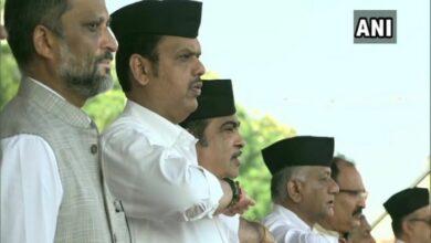 Photo of Maharashtra CM, Nitin Gadkari, others attend RSS Vijaydashmi event