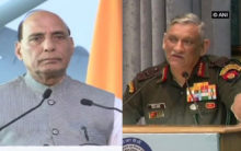 Rajnath speaks to Army Chief over escalating border tensions