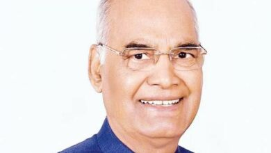 Photo of President Ram Nath Kovind greets people on New Year's eve