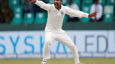 Photo of Jadeja becomes quickest left-arm bowler to scalp 200 Test wicket