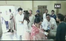 Maha polls: Genelia, Riteish Deshmukh cast their votes in Latur