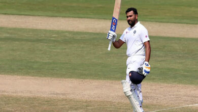 Photo of Rohit Sharma smashes 176 runs  in first Test match