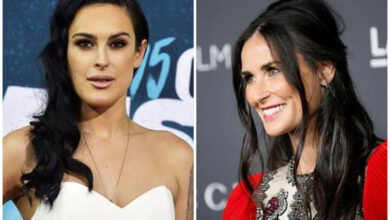 Photo of Here's why Demi Moore's daughter Rumer Willis is proud of her