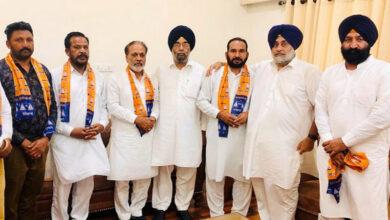 Photo of Punjab: Congress leader Kuldeep Sahota joins SAD