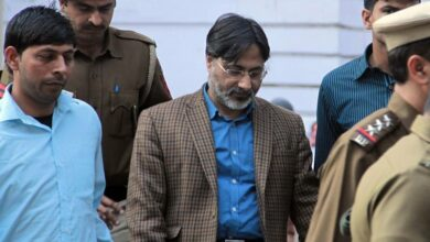 Photo of Ex-DU professor Geelani's post-mortem at AIIMS