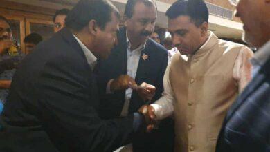 Photo of General Secretary of SIBN with Goa CM
