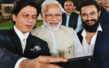 PM Modi meets Bollywood bigwigs, Twitter reacts