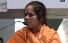 Sadhvi Prachi claims threat to life, demands security