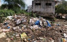 Once a Community Hall, Now a Massive dumping yard