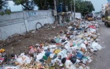 GHMC staff neglect garbage removal