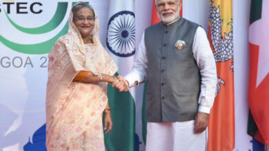 Photo of Bangladesh PM in India:  Expresses 'great concern' over NRC
