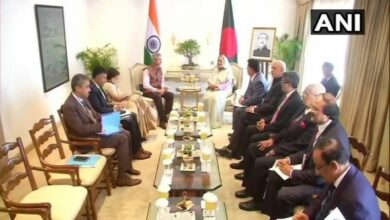 Photo of Jaishankar meets Bangladesh PM Sheikh Hasina