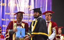 Hyderabad: 6th Convocation of St. Joseph's Degree college held