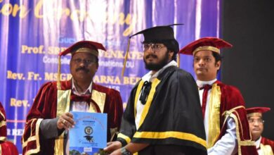 Photo of Hyderabad: 6th Convocation of St. Joseph's Degree college held