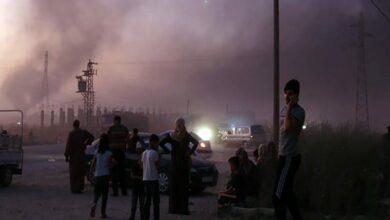 Photo of Syrian and Turkish troops clash near Ras al Ain