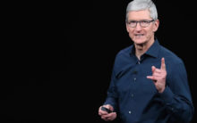 Cook takes a dig at Facebook, says no to Apple digital coin