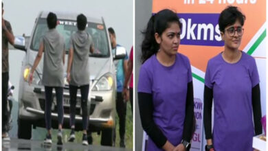 Photo of 2 women from Gujarat, run backward for 13 hours, attempt Guinnes