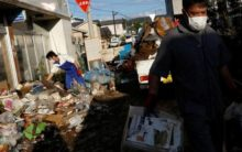 Typhoon Hagibis in Japan: Death toll rises to 72