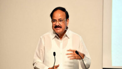 Photo of Vice President Naidu launches nutrition anthem