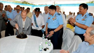 Hyderabad: CAW celebrates 87th anniversary of Indian Air Force