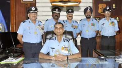 Photo of Air Marshal J. Chalapati takes over as commandant of IAF