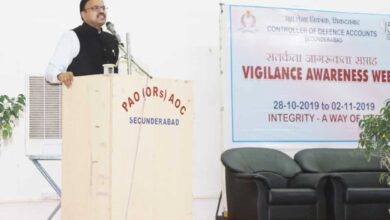 Photo of Vigilance week being observed at CDA Secunderabad
