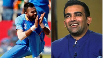 Photo of Pandya slammed for 'disrespectful' birthday wish for Zaheer Khan