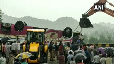 Photo of Gujarat bus accident: Death toll reaches 21