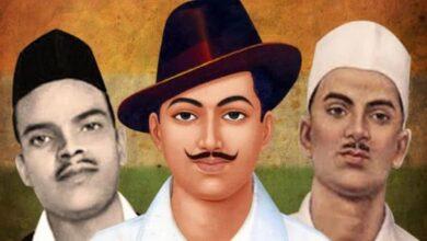 Photo of Manish Tiwari for Bharat Ratna to Bhagat Singh, Rajguru, Sukhdev
